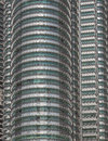 High windows Petronas Towers.