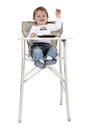 Highchair Lizenzfreie Stockbilder