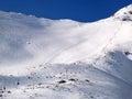 Tatranska Lomnica is ski resort in High Tatras