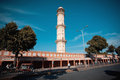 Highest th century tower to heaven jaipur india swargasuli of historical pink city Royalty Free Stock Photography