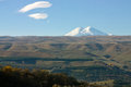 Highest top of europe elbrus image with Stock Image