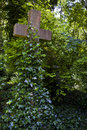 Highgate cemetery in london Royalty Free Stock Photos