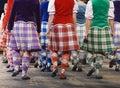 Highland Dancers Stock Photo