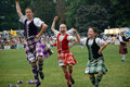 Highland Dancers Royalty Free Stock Photography