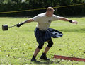 Highland Games 3 Stock Image