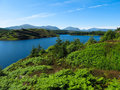 Highland view Royalty Free Stock Photo