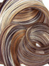 Highlight hair texture background Stock Image