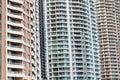 Highrise Apartments, Brisbane, Australia Royalty Free Stock Photo