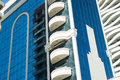 Highrise apartments and offices architectural detail on buildings surfers paradise on australia s gold coast with commercial Stock Image