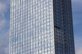 Highrise building facade office tower exterior Royalty Free Stock Photo