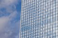 Highrise building facade office tower exterior glass of skyscraper detail Royalty Free Stock Photos