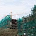 Highrise construction Stock Photos