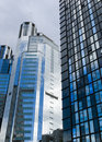 Highrise glass building Royalty Free Stock Photo