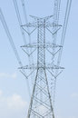 Hight voltage power tower a Royalty Free Stock Images