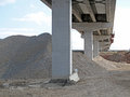 Highway infrastructure a heavy industrial project construction site Royalty Free Stock Images