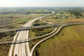 Highway interchange Royalty Free Stock Photo