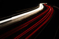 Highway at night Royalty Free Stock Images