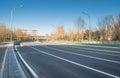Highway scene Royalty Free Stock Photo