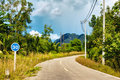 Highway in Thailand Stock Photography