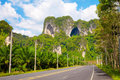 Highway in Thailand Stock Photos