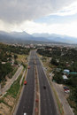 Highway to Almaty Stock Images