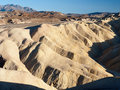 Highway at Zabriskie Point in Death Valley Stock Images