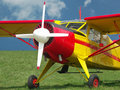 Highwing airplane Royalty Free Stock Photo