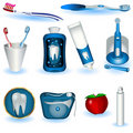 Higiene dental Foto de Stock