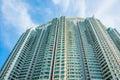 Hign density residential building in hong kong Stock Photos