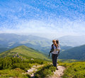 In hike Royalty Free Stock Images