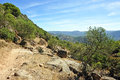 Hike in the Sierra de Andujar Natural Park, Jaen province, Spain Royalty Free Stock Photo