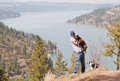 Hike to the top Stock Photography