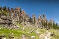 Hiking in Custer State Park, South Dakota Royalty Free Stock Photo