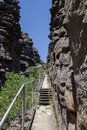 hiking path to the pinnacle lookout, The Central Grampians, Victoria, Australia