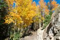 Hiking in Rocky Mountain National Park Royalty Free Stock Photo