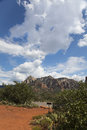 Hiking Trail Sedona Stock Image