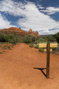 Hiking Trail Sedona Royalty Free Stock Image