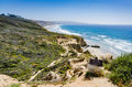 Hiking Trail - Torrey Pines State Natural Preserve - California Royalty Free Stock Photo