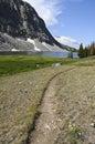 Hiking Wyoming Royalty Free Stock Photo