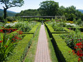 Hildene Farm Gardens Stock Photography