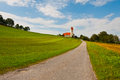 Hill in Bavaria Royalty Free Stock Photo