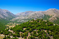 Hill in the centre of askyfou plateau a at crete island greece Royalty Free Stock Photography