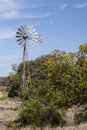 Hill Country windmill Royalty Free Stock Photo