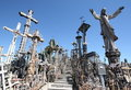 The Hill of Crosses Royalty Free Stock Image