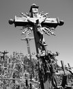 The Hill of Crosses Stock Image