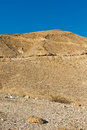 Hill of the negev desert in israel Stock Photography