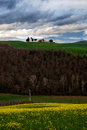 Hill in the Tuscany Stock Photography