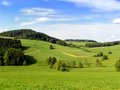 Hills of Muehlviertel Royalty Free Stock Photos
