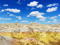 Hills in the South Dakota Badlands Royalty Free Stock Images