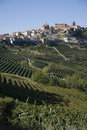 Hillside in Piemonte Stock Photography